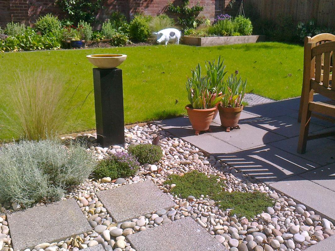 Roger Webster Garden Design - Exeter Town House